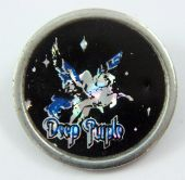 Deep Purple - 'Stormbringer' Round Prismatic Lapel Badge